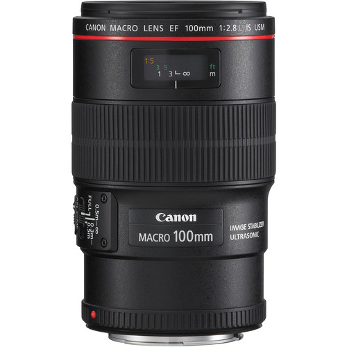 CANON LENS EF 100MM F2.8 L MACRO IS USM