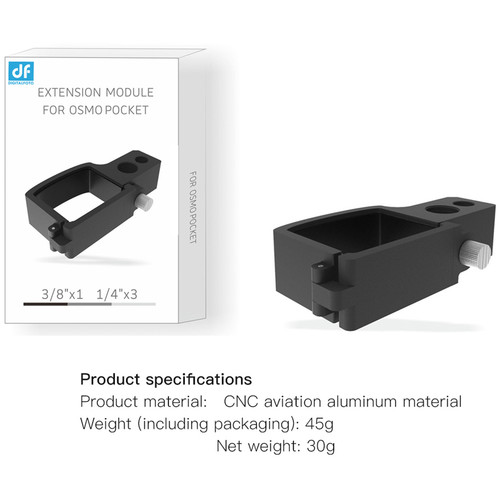 DIGITALFOTO OP-MC01 MOUNTING ADAPTER RING FOR OSMO POCKET