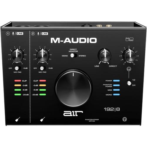 M-AUDIO AIR 192X8 USB AUDIO INTERFACE W/ MIDI