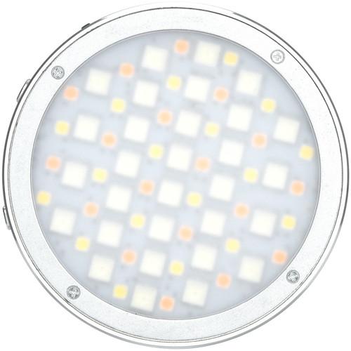 GODOX R1 ROUND MINI RGB LED MAGNETIC LIGHT (SILVER)
