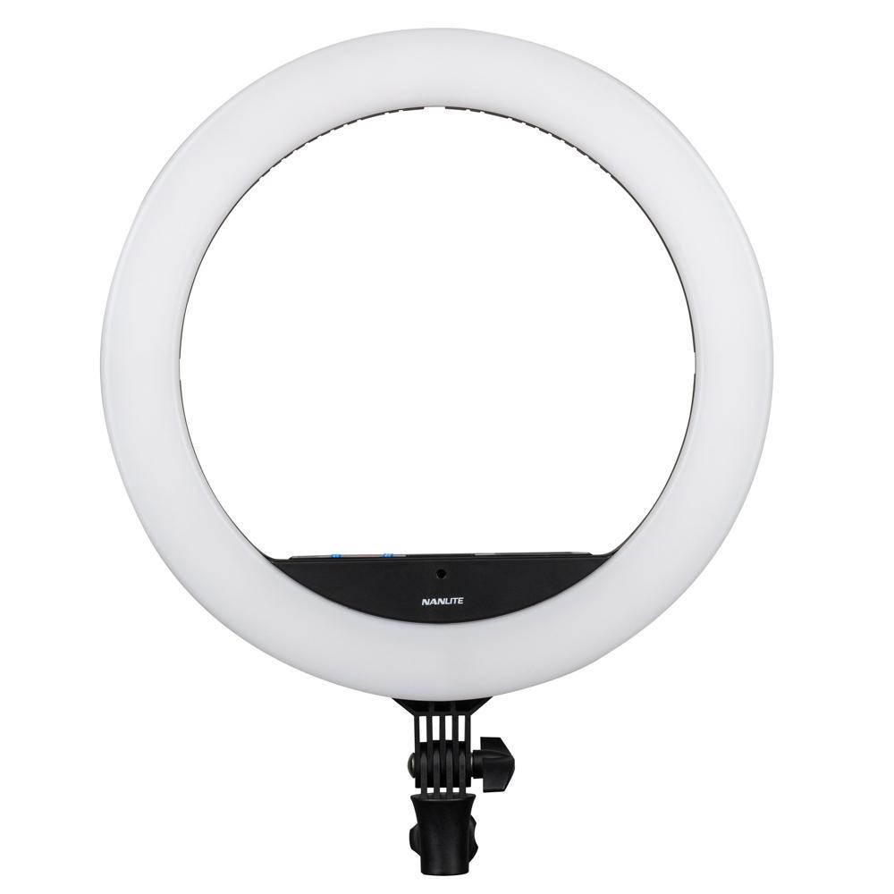 NANLITE HALO 16C BI-COLOR LED RING LIGHT RGB MIRROR W/ BAG