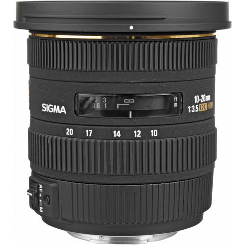 SIGMA LENS 10-20MM F3.5 EX DC HSM (NIKON)82