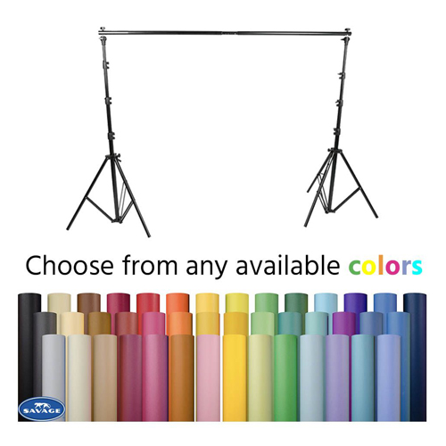 VISICO VS-B808C BACKGROUND STAND SAVAGE BACKGROUND PAPER (A1 2.72M X 11M)