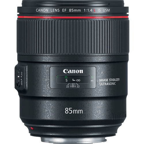 CANON LENS EF 85MM F/1.4 IS USM