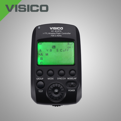 VISICO VC-818TX HIGH SPEED SYNC TRANSMITTER FOR NIKON