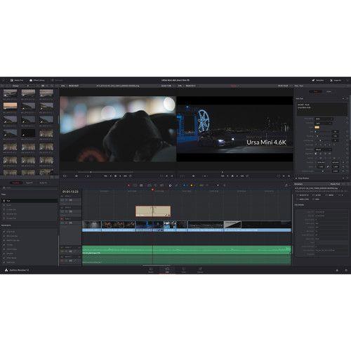 Blackmagic Design Davinci Resolve 15 Studio Editing And Color Correction Software Dv Resstud Act