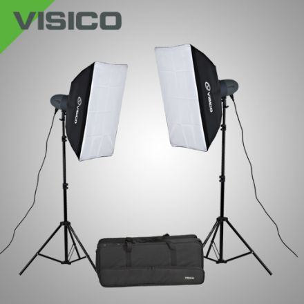 GERGEAN STUDIO OFFER WITH SOFT BOX KIT + WHITE PAPER BACKGROUND AND BACKGROUND STAND