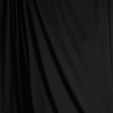 SAVAGE SD2024 SOLID COLOR MUSLIN BLACK 10 X 24