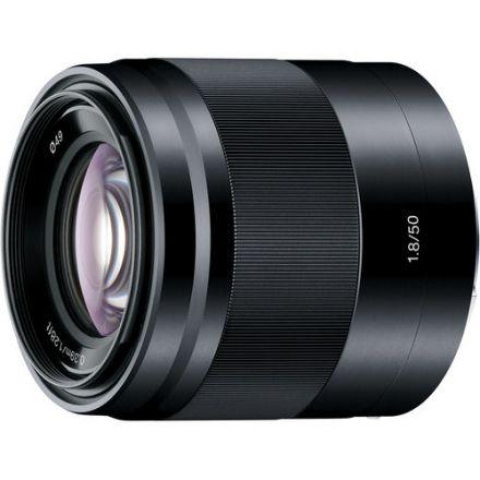 SONY E LENS 50MM F/1.8 OSS  (BLACK)