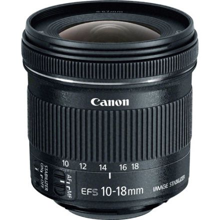 CANON LENS 10-18MM F4.5-5.6 IS STM