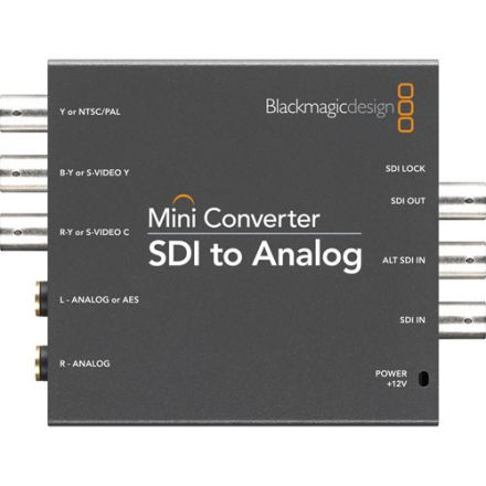BLACKMAGIC MINI CONVERTER SDI TO HDMI ANALOG CONVMASA