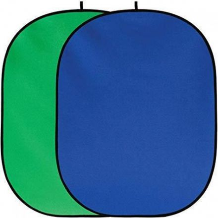 VISICO COLLAPSIBLE BACKGROUND BP-028 150X200 BLUE/GREEN