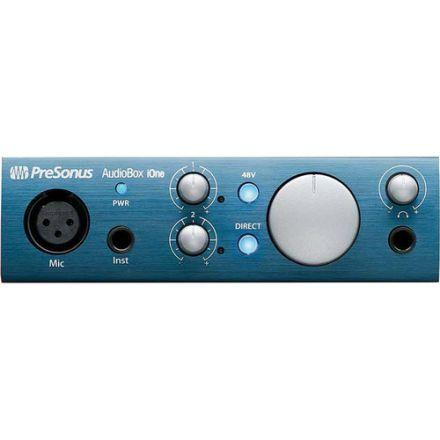PRESONUS AUDIOBOX I-ONE USB 2.0 & IPAD RECORDING INTERFACE