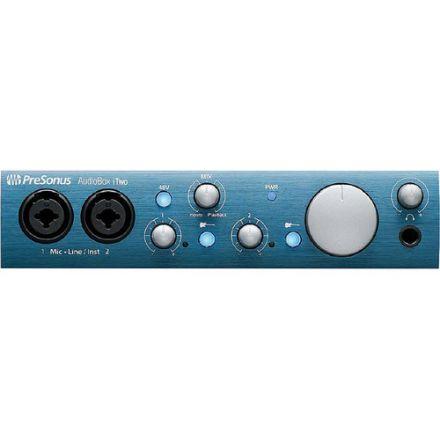 PRESONUS AUDIOBOX I-TWO USB 2.0 & IPAD RECORDING INTERFACE