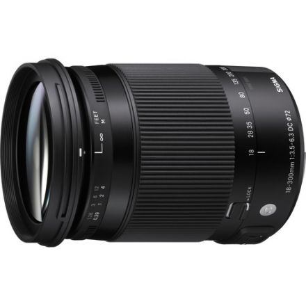 SIGMA LENS 18-300MM F3.5-6.3 DC MACRO OS HSM FOR CANON