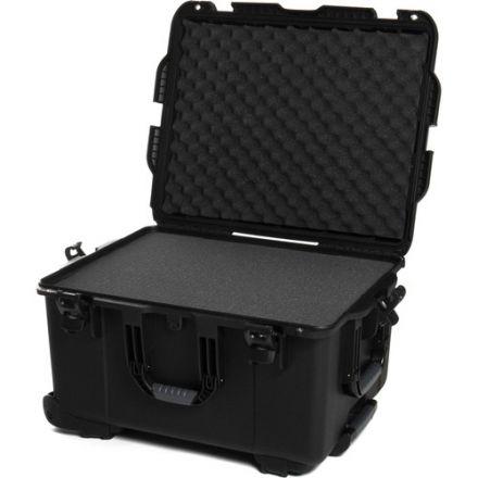 NANUK 960-1001 TROLLEY CASE WITH CUBED FOAM -BLACK 960B
