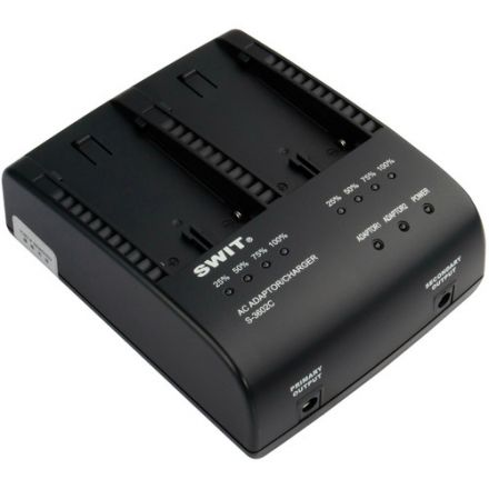 SWIT S-3602C DV BATTERY CHARGER AND ADAPTOR