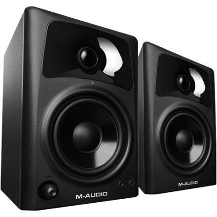 M-AUDIO AV42XUK COMPACT MONITORS FOR PRO QUALITY MEDIA (PAIR)