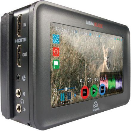 "ATOMOS NINJA ATOMNJB001 BLADE 5"" HDMI ON-CAMERA MONITOR & RECORDER"