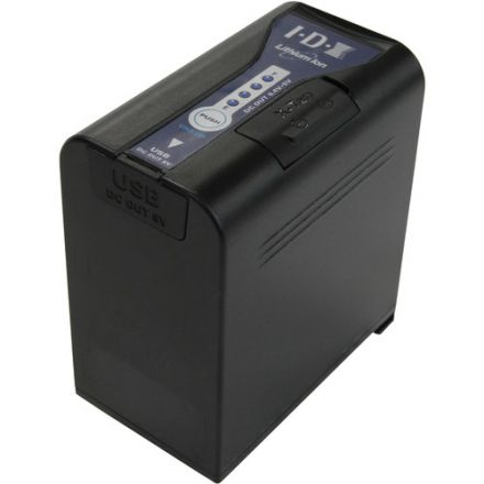IDX SL-VBD96 7.4V/9600MAH LI-ION BATTERY FOR PANASONIC CAMCORDERS