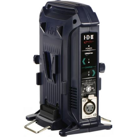 IDX VL-2X 2-CHANNEL V-MOUNT CHARGER + POWER SUPPLY