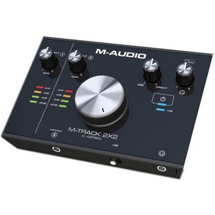 M-AUDIO M-TRACK2X2 USB AUDIO INTERFACE