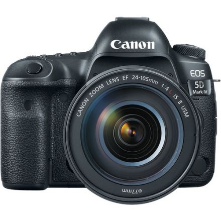 CANON CAMERA EOS 5D MARK IV KIT WITH EF 24-105 F/4L IS II USM LENS
