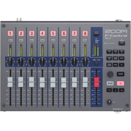 ZOOM F-CONTROL SERIES FOR F4 & F8 MULTITRACK FIELD RECORDERS