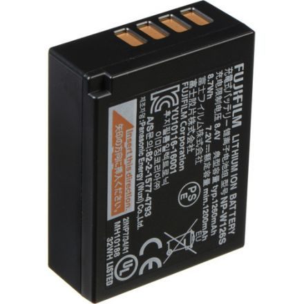 FUJI RECHARGABLE LITHIUM-ION BATTERY NP-W126S