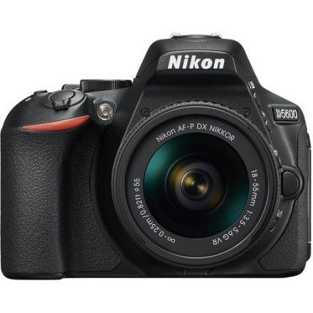 NIKON SLR CAMERA D-5600 BLACK+18-55MM LENS BLACK