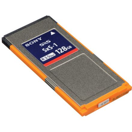 SONY SBS-128G1C 128GB SXS-1 MEMORY CARD
