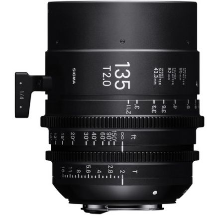 SIGMA 135MM T1.5 FF HIGH-SPEED PRIME (EF MOUNT)