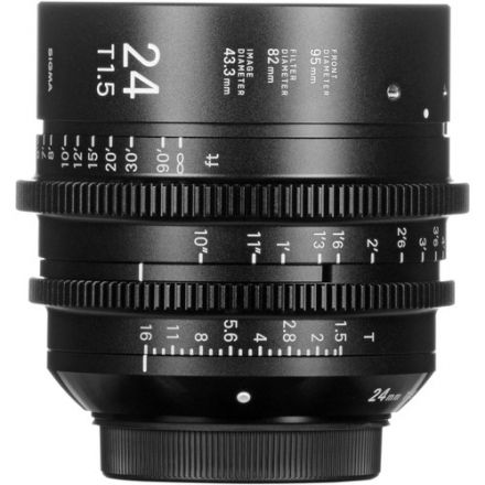 SIGMA 24MM T1.5 FF HIGH-SPEED PRIME (PL MOUNT)