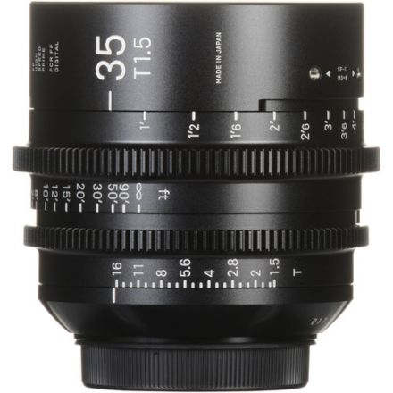 SIGMA 35MM T1.5 FF HIGH-SPEED PRIME (SONY E MOUNT)