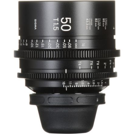 SIGMA 50MM T1.5 FF HIGH-SPEED PRIME (SONY E MOUNT)
