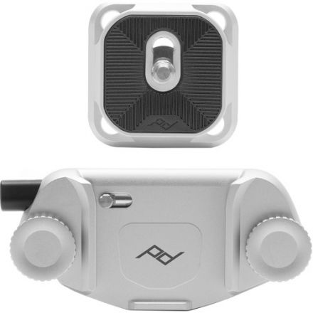 PEAK DESIGN CAPTURE CAMERA CLIP V3 CP-S-3 SILVER