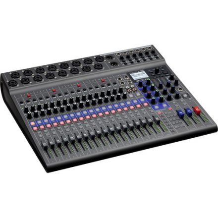 ZOOM L-20 LIVETRAK 20-INPUT DIGITAL MIXER & MULTITRACK RECORDER