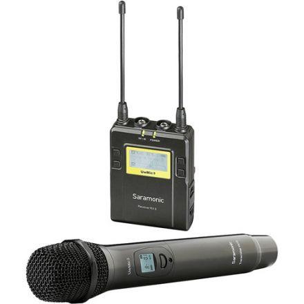 SARAMONIC UWMIC9 RX9+HU9 UHF WIRELESS MICROPHONE KIT (RX9+HU9)