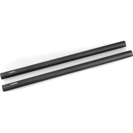 SMALLRIG 15MM CARBON FIBER ROD 30CM 12 INCH 2PCS 851