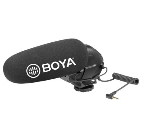 BOYA BY-BM3031 ON-CAMERA SHOTGUN MICROPHONE