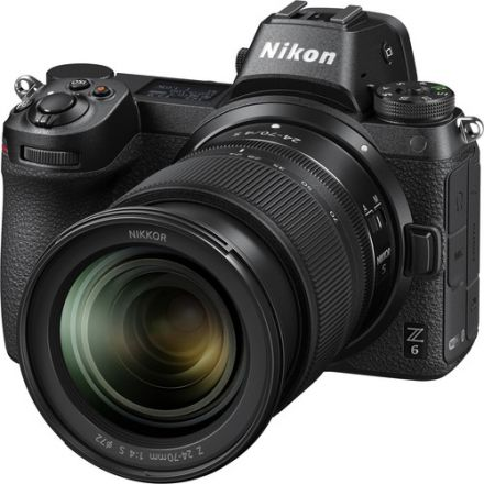 NIKON Z6 MIRRORLESS CAMERA W/ 24-70MM LENS