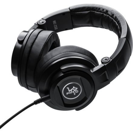 MACKIE MC-250 PROFESSIONAL CLOSED-BACK MONITORING HEADPHONES