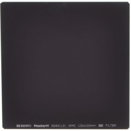 BENRO MHND641010 100X100MM ND64 1.8 6 STOPS GLASS SQUARE FILTER
