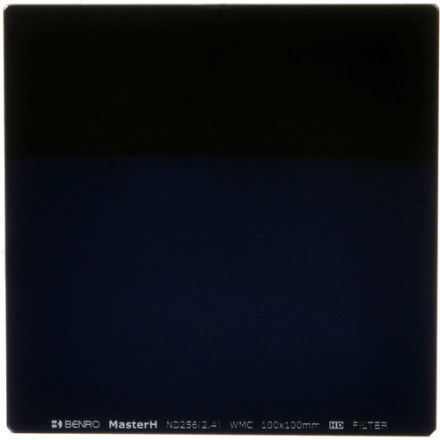 BENRO MHND2561010 100X100MM ND256 2.4 8 STOPS GLASS SQUARE FILTER
