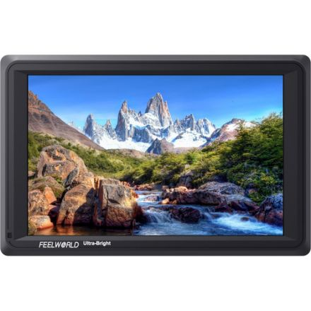 """FEELWORLD FW279S 7"""" 4K ULTRA-BRIGHT MONITOR WITH LOOP-THROUGH HDMI AND 3G-SDI"""