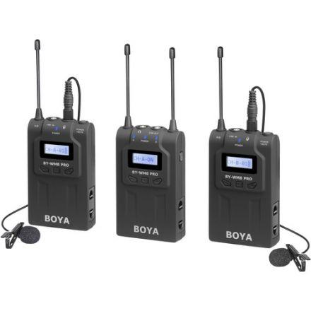 BOYA BY-WM8-PRO K2 UHF WIRELESS MICROPHONE