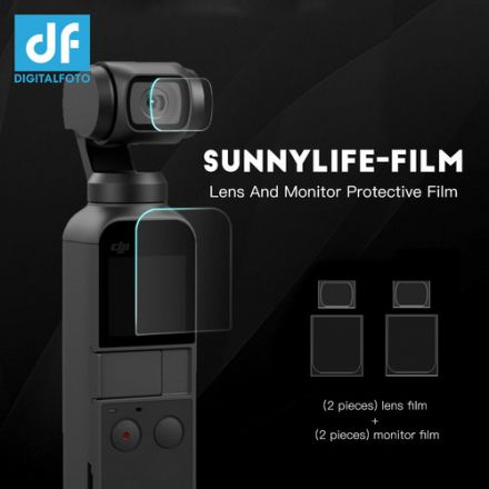 DIGITALFOTO SUNNYLIFE-FILM LENS AND MONITOR PROTECTIVE FILM FOR OSMO POCKET