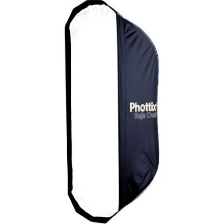 "PHOTTIX RAJA OVAL QUICK-FOLDING SOFTBOX 50X120CM (20""X47"")"