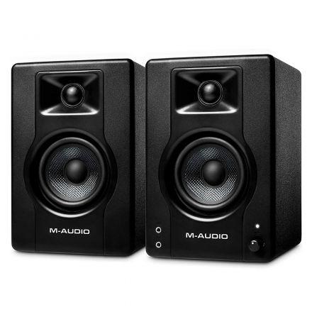"""M-AUDIO BX3PAIRXEU 3.5"""" 120W POWERED STUDIO MONITOR (PAIR)"""