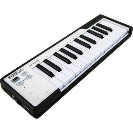 ARTURIA 230512 MICROLAB USB MIDI CONTROLLER (BLACK)
